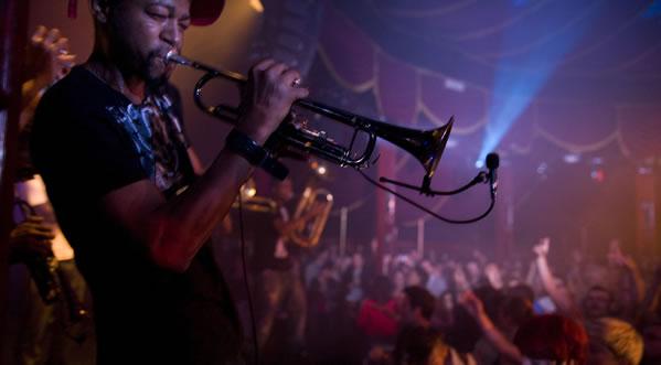 Jazz performers
