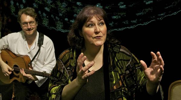 Performance at the Scottish International Storytelling Festival