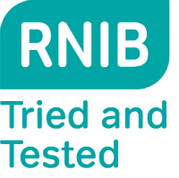 RNIB Tried and Tested logo