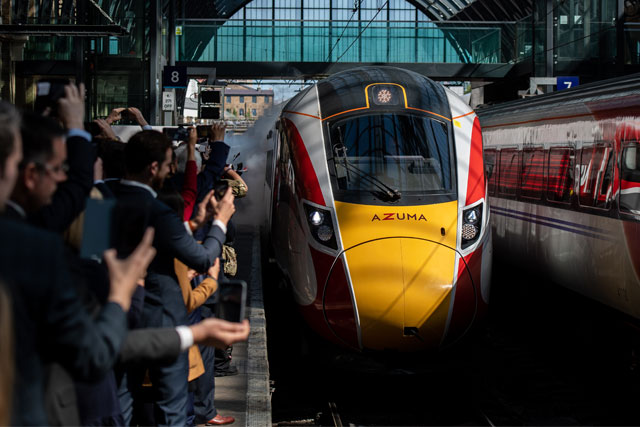 Azuma arrives at King's Cross