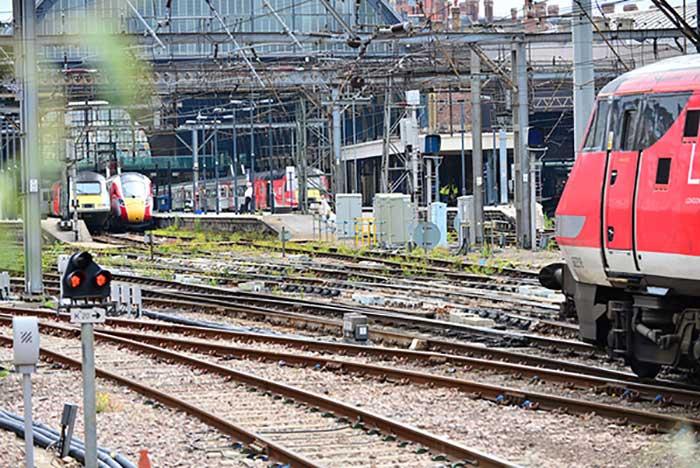 Tracks at King's Cross