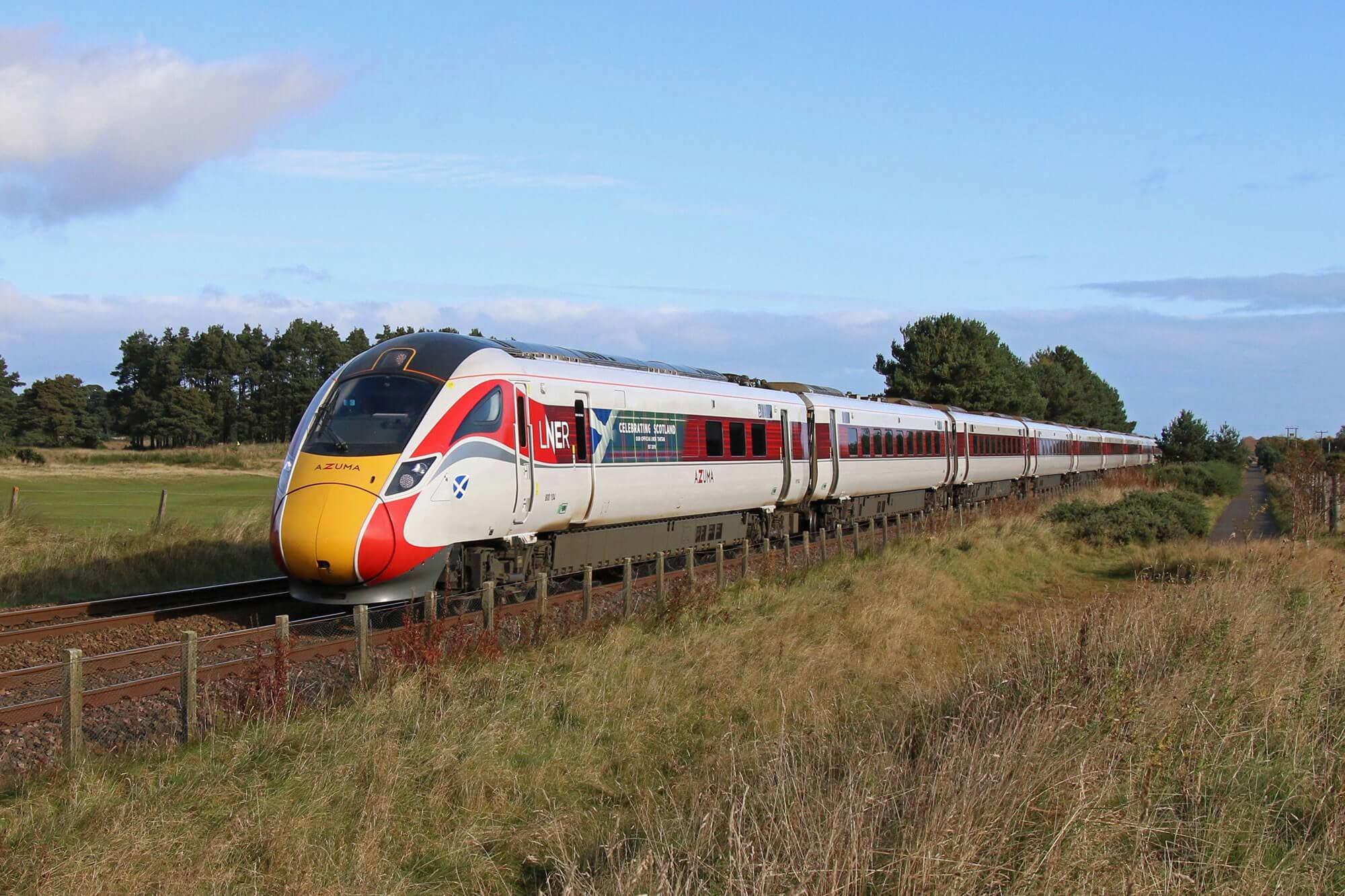 Azuma in Aberdeen credit: Jim Ramsay / LNER