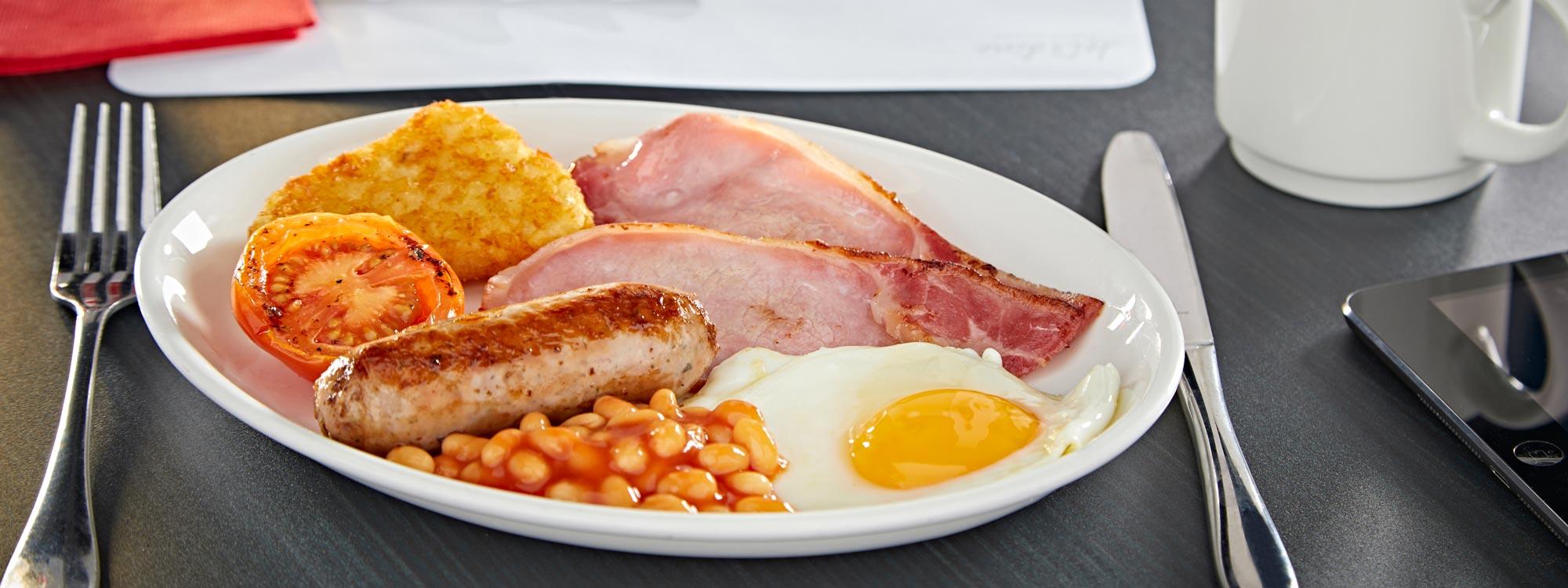 Full LNER First Class Breakfast