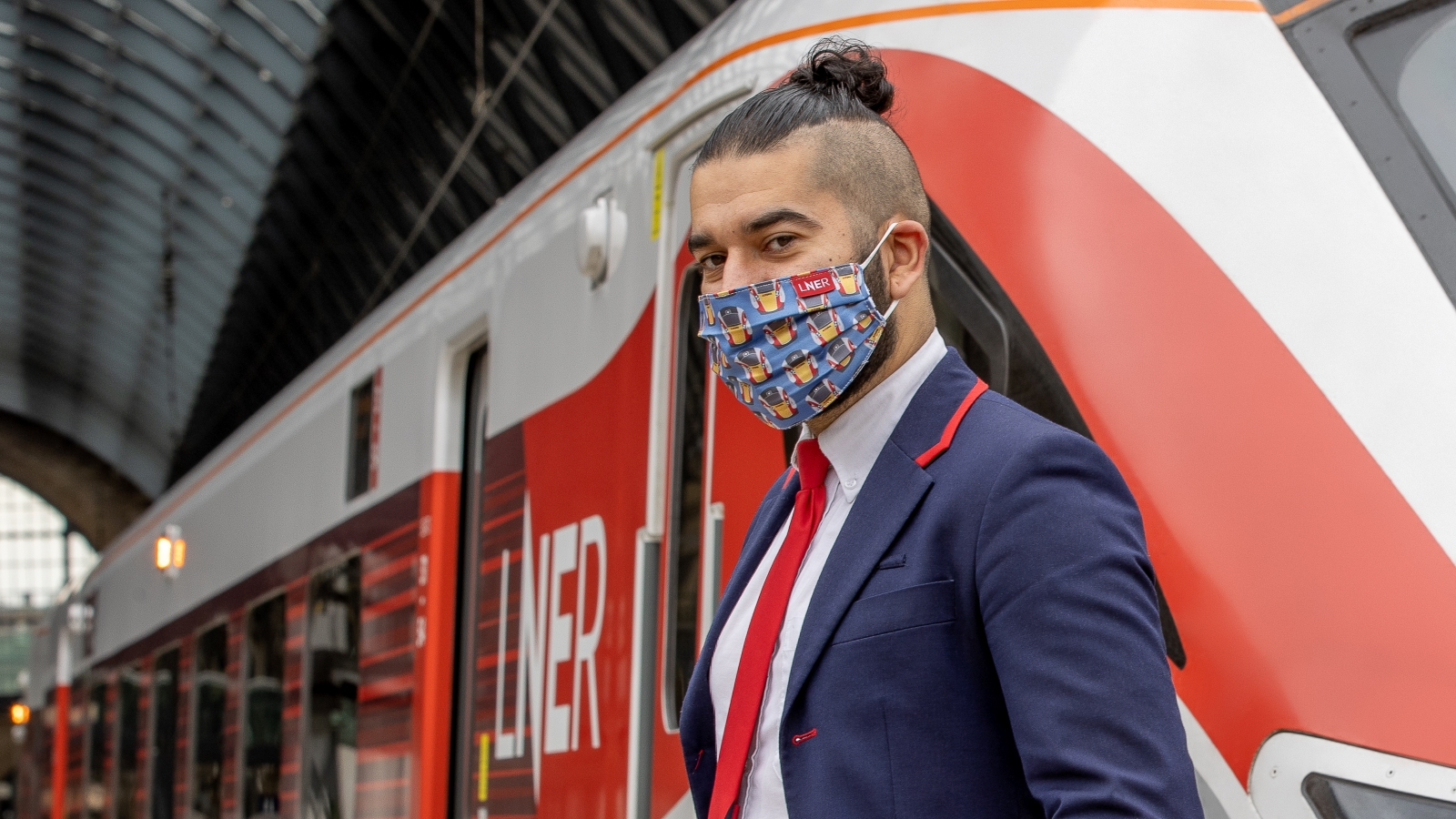 LNER MARKS £230,000 RAISED FOR CAMPAIGN AGAINST LIVING MISERABLY WITH NEW LIMITED-EDITION AZUMA FACE MASK