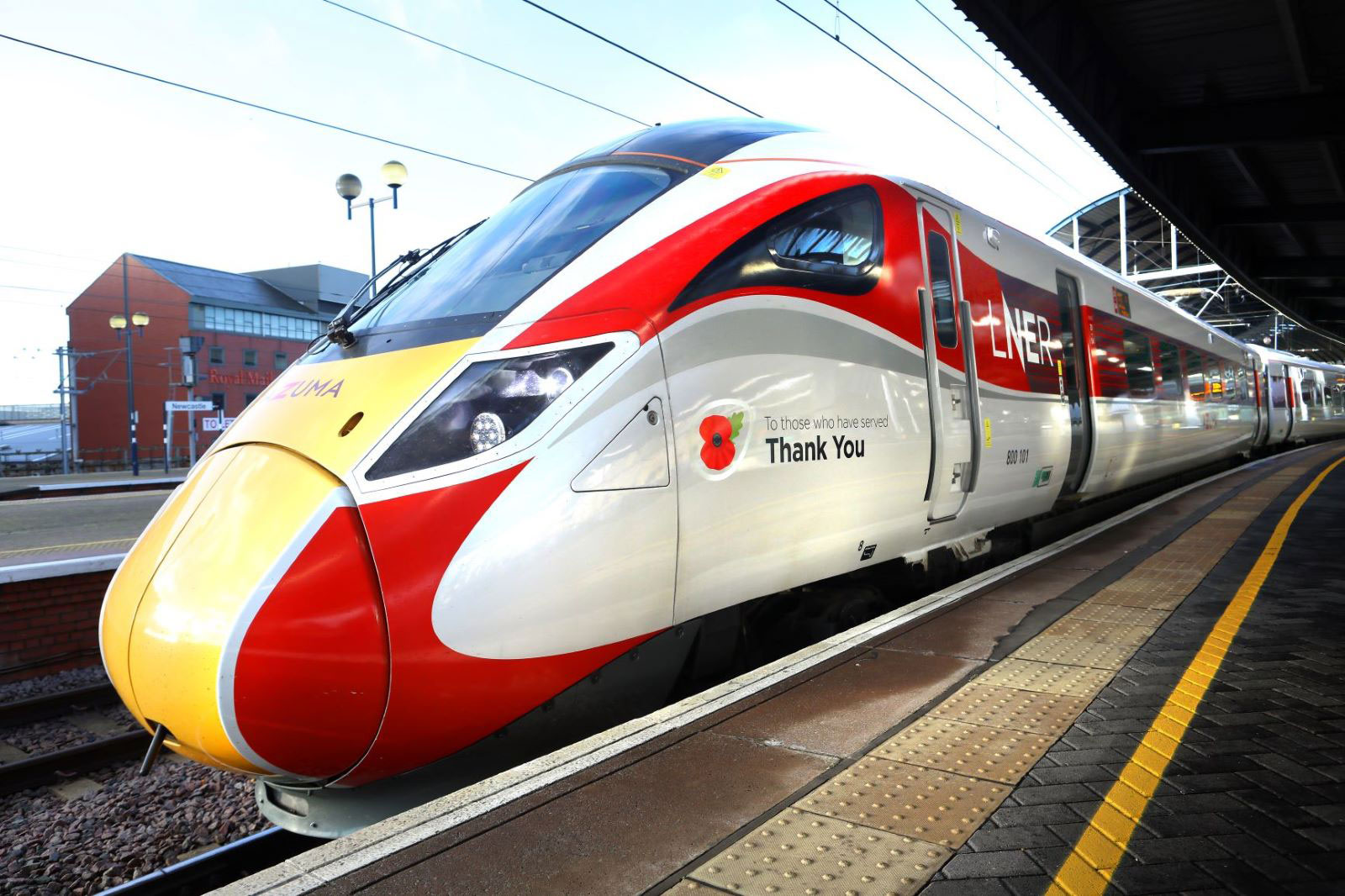 LNER Recognises Those Who Have Served