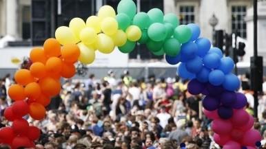 Pride balloons