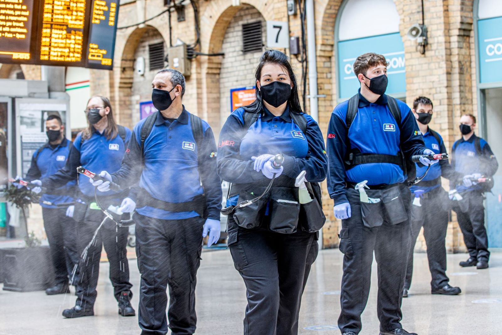 New 'Stormtroopers' Take LNER's Army Of Cleaners To More Than 330 As Record Levels Of Cleaning Continue
