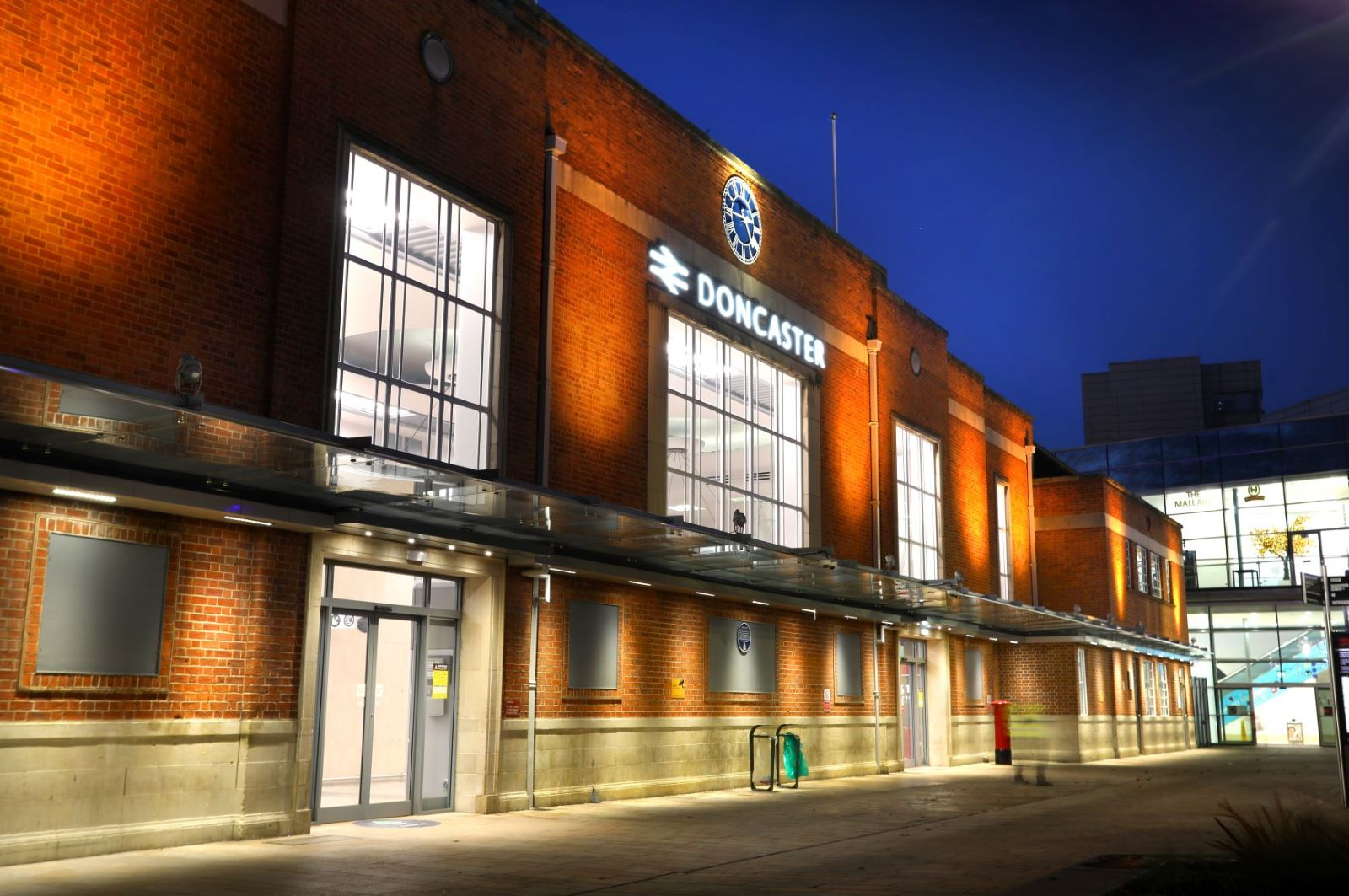 Doncaster Station Transformed To Give Visitors A Warm Welcome To The Region