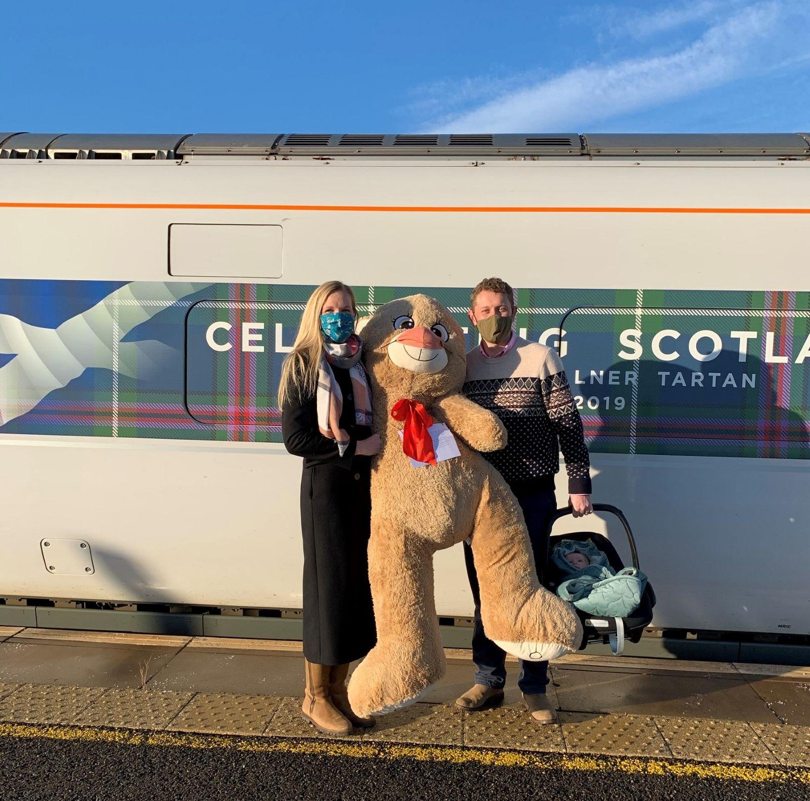 LNER Delivers Christmas For Evelyn