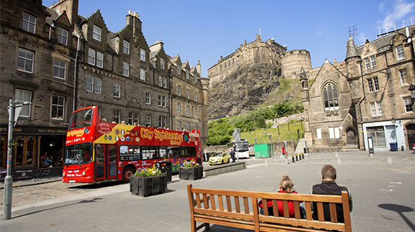 The Grassmarket Edinburgh