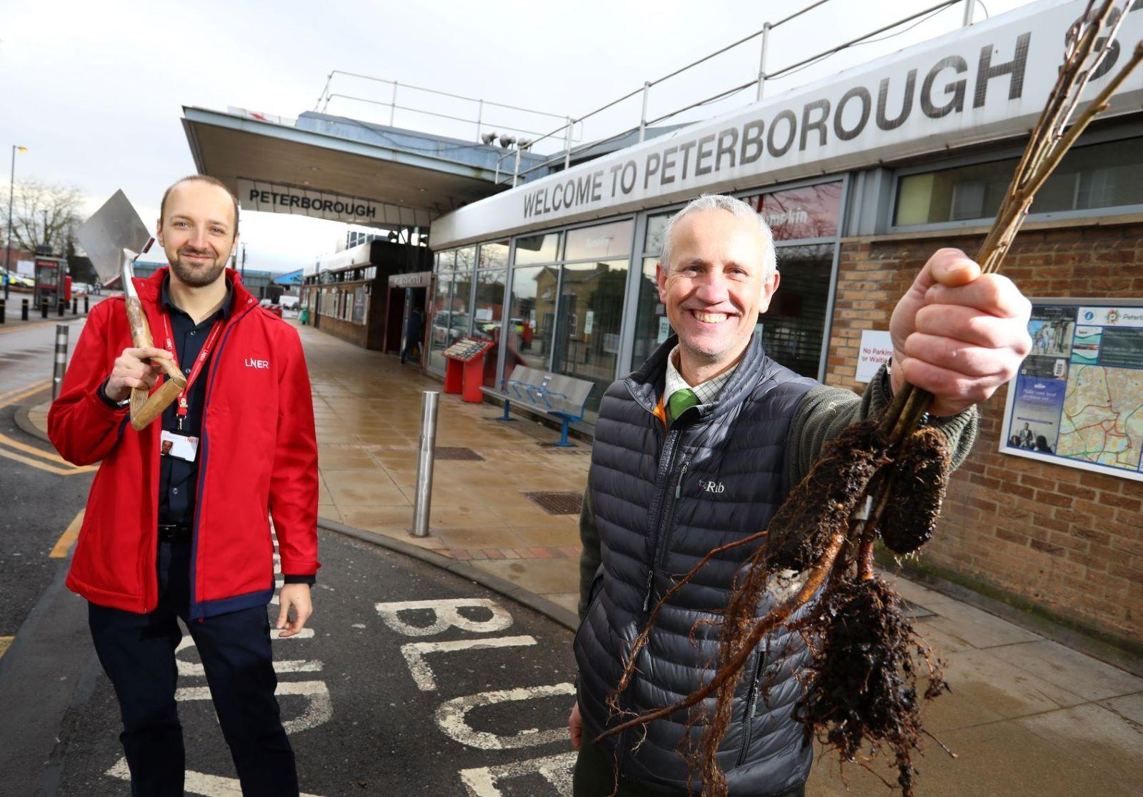 5,000 Trees Planted Across Peterborough As LNER Partnership Takes Root