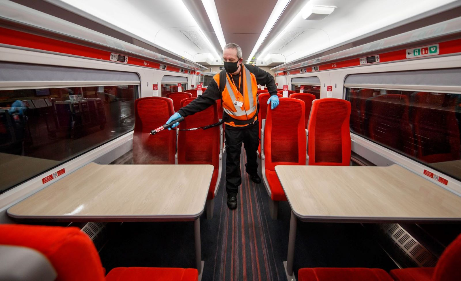Cleaners Clock Up Half A Million Hours Working Day-And-Night To Ensure LNER Customers Can Travel With Confidence