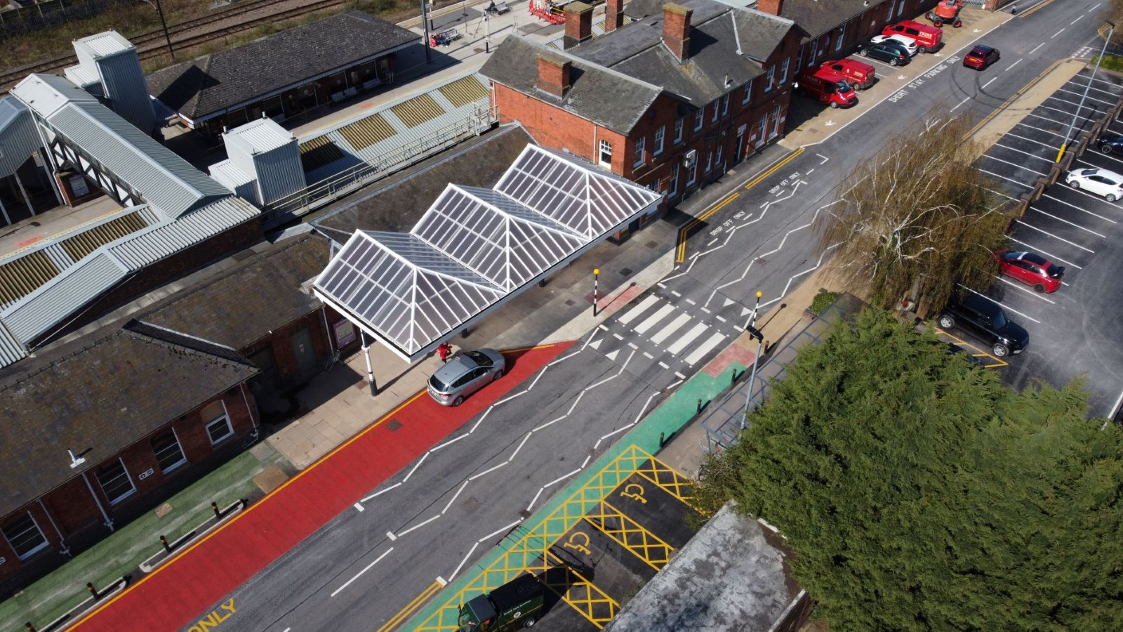 New Gateway To Grantham Created As Part Of Station Improvements