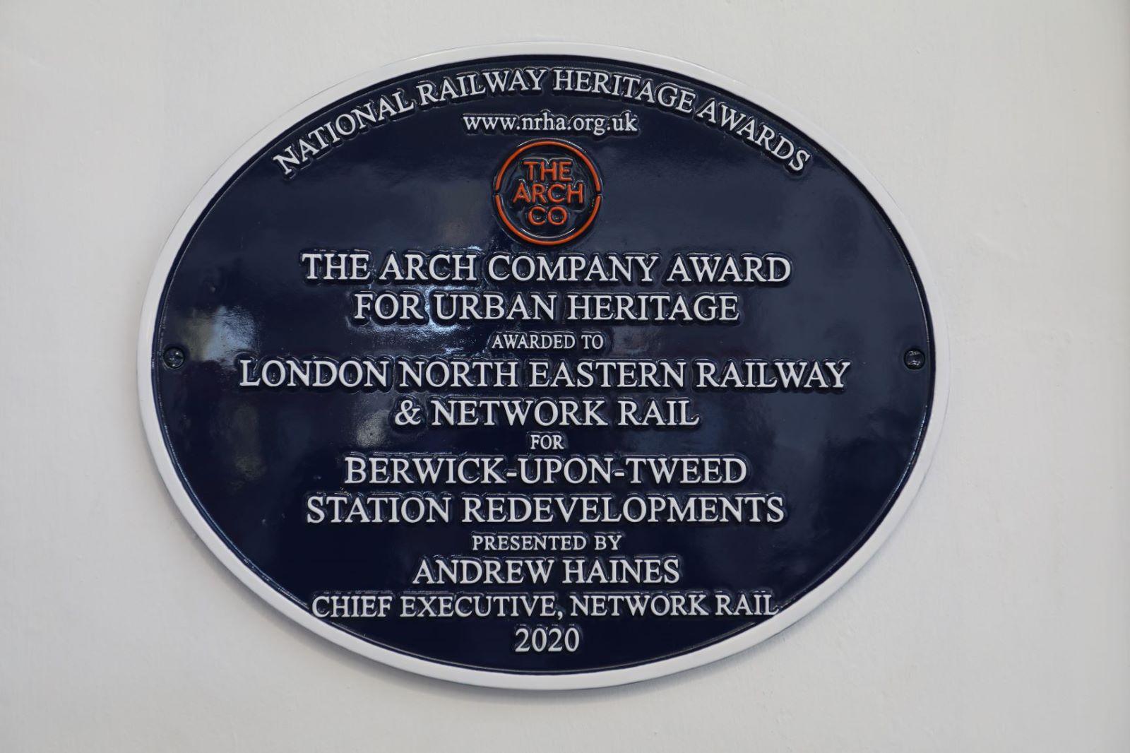 Berwick Station plaque 2.JPG