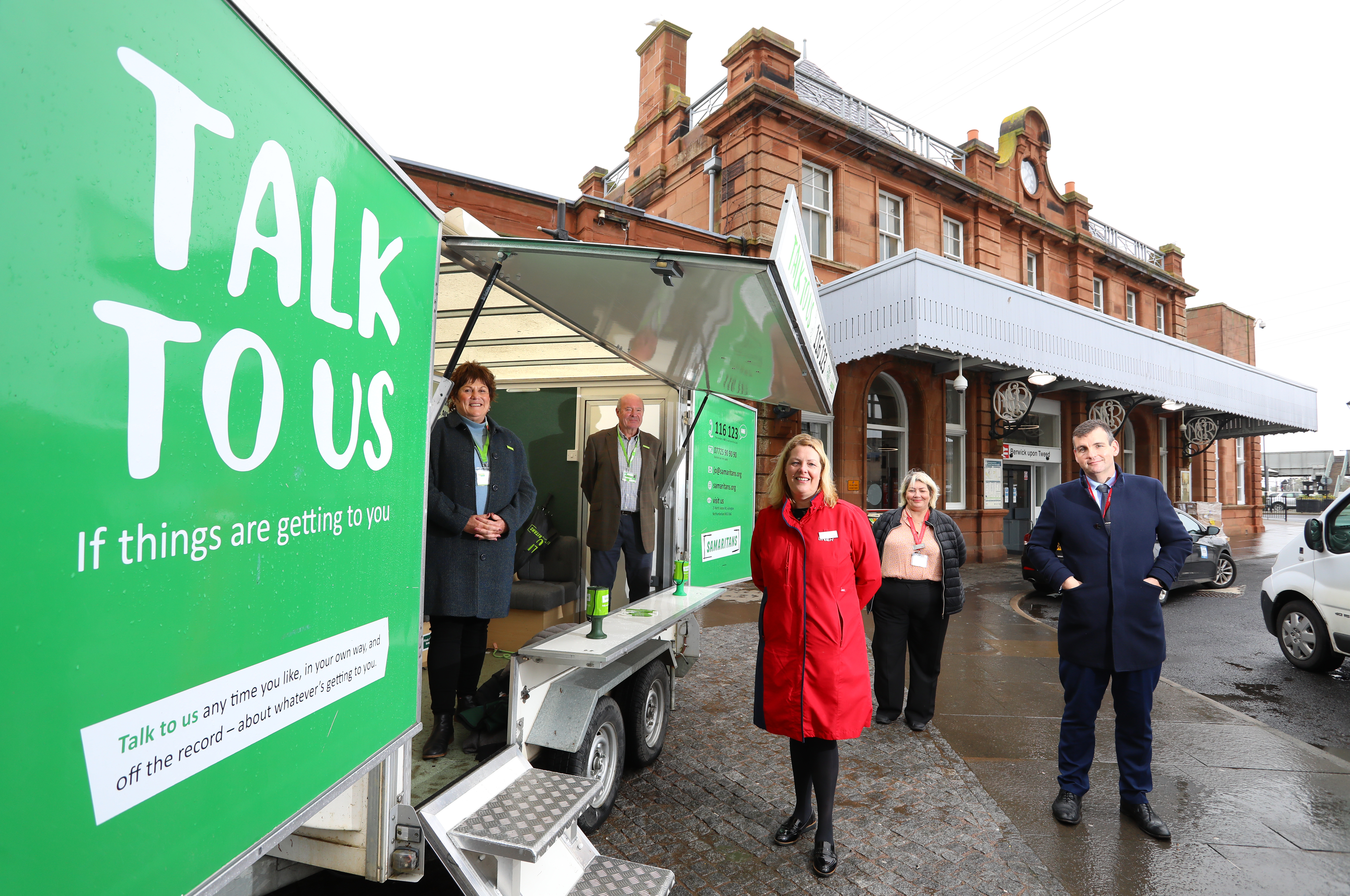 LNER Joins Forces With Samaritans In New Partnership Set To Benefit Berwick And The Borders