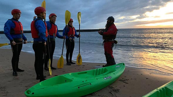 Kayak and SUP board tour and hire Newcastle