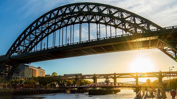 Walk the Quayside Newcastle