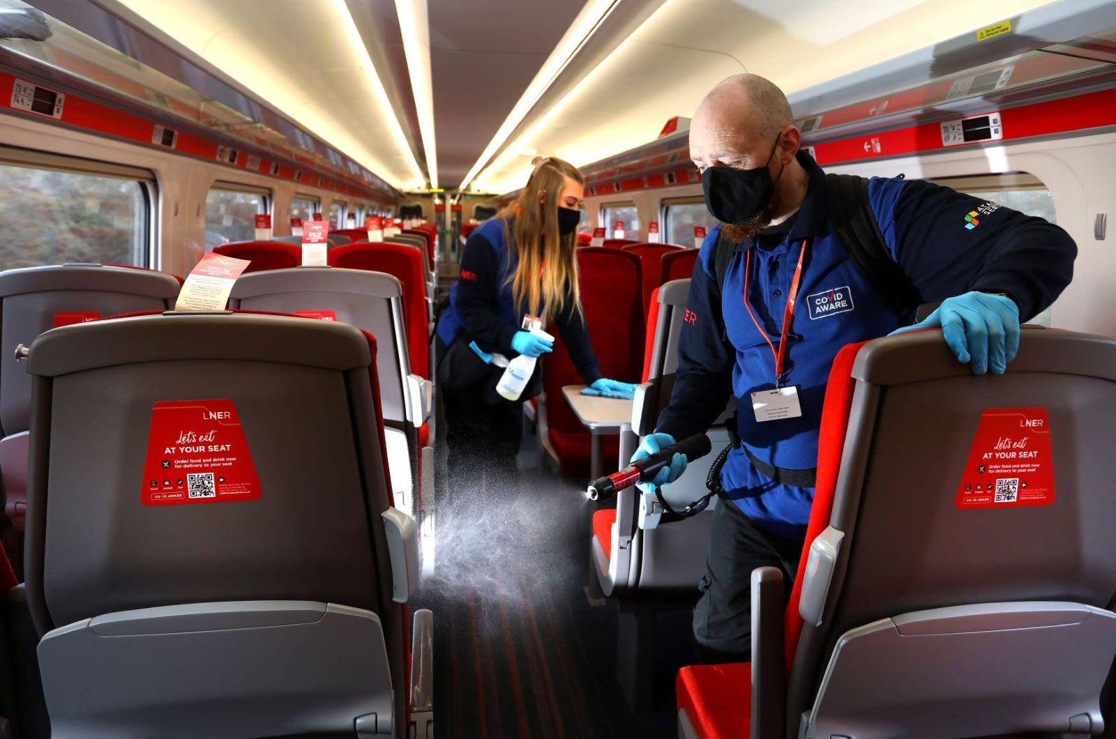LNER Cleaning Partnership Shortlisted For Prestigious National Award