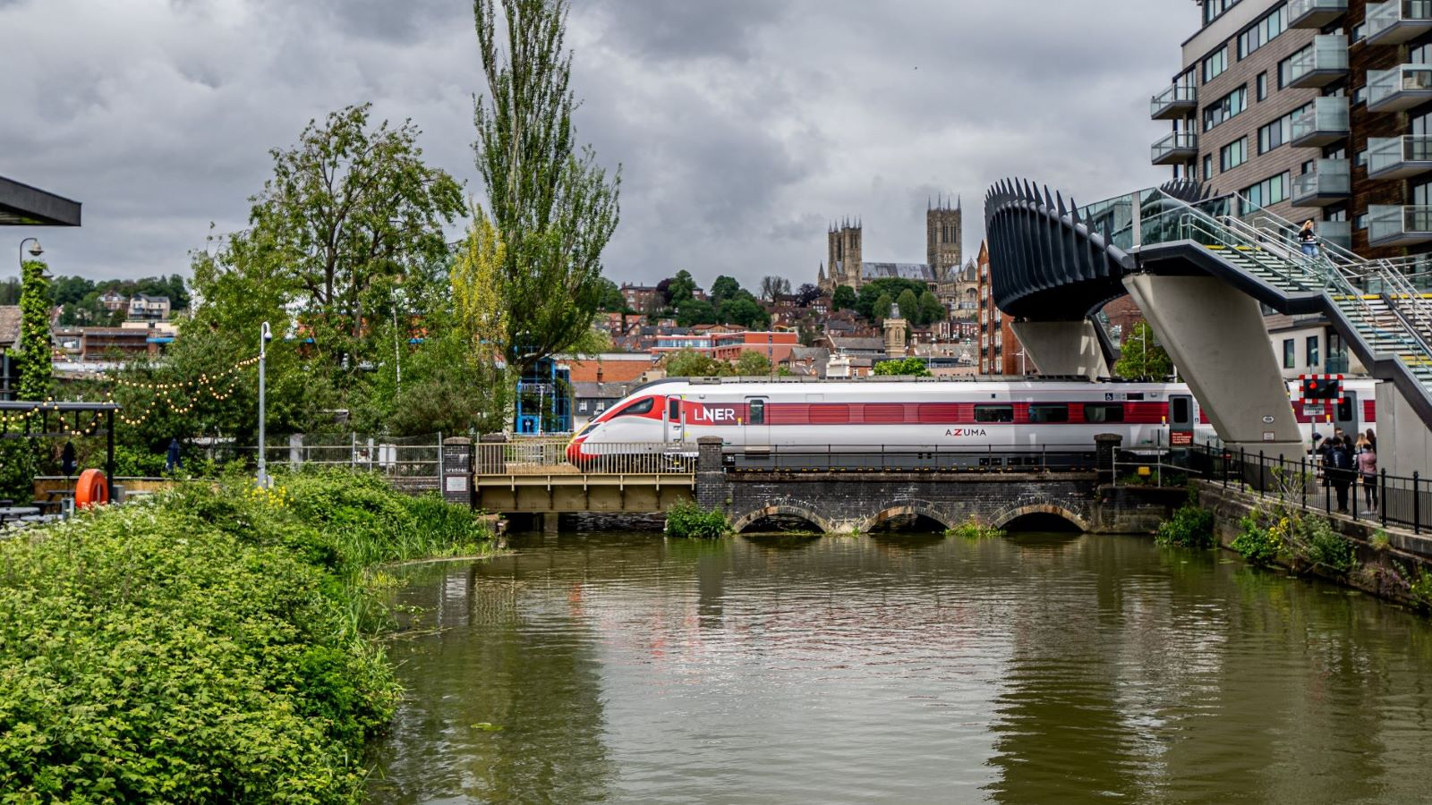 LNER And Visit Lincoln Launch 'Lincoln Week' As Part Of A New Campaign To Celebrate The City