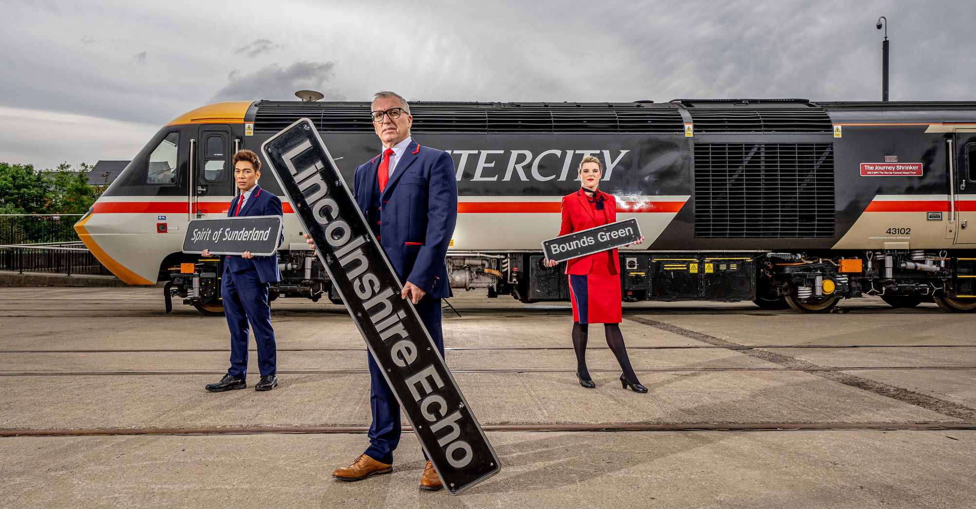 Historic LNER Nameplates Raise Thousands Of Pounds For Charity