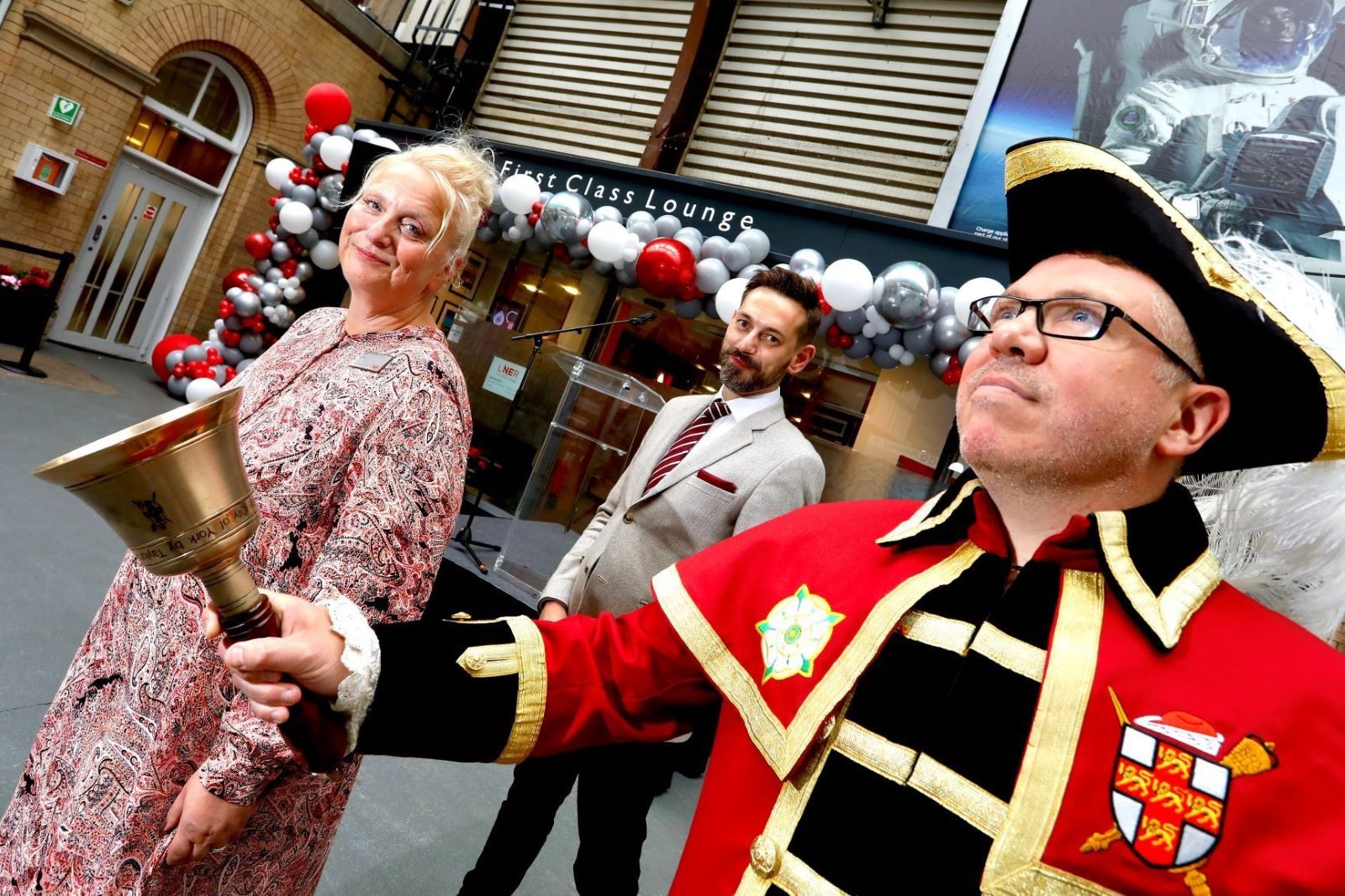 York Station Gets First Class Treatment With New Luxury Lounge