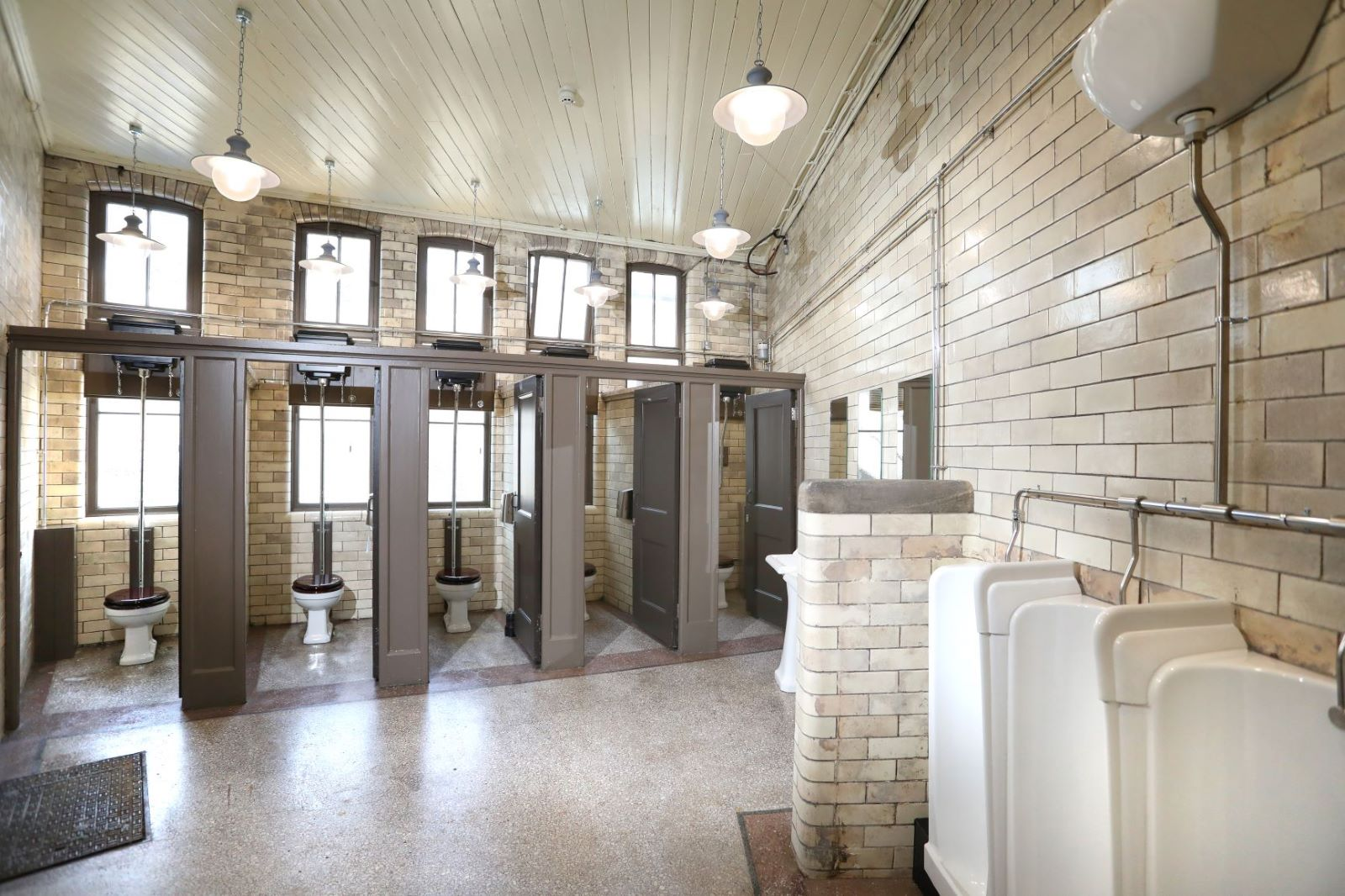 Historic Newcastle Central Station Facilities Restored