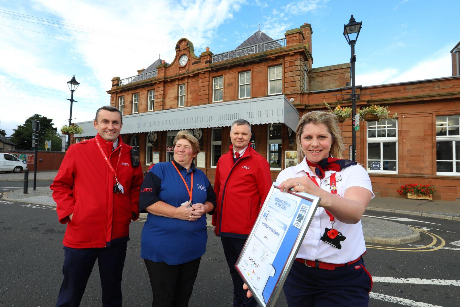 Berwick-Upon-Tweed StationRecognised In Prestigious National Rail Awards